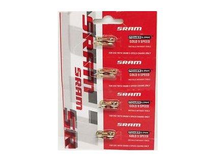 PowerLink Gold spojka 9rychlostní (4 ks)