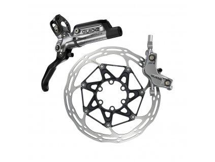Disková brzda SRAM Guide Ultimate, karbonová páčka, s titanovými šrouby, Reach,SwingLink,