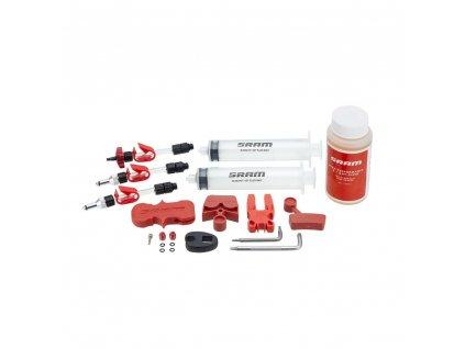 SRAM standardní odvzdušňovací sada včetně kapaliny (v balení 2 stříkačky/fittings, bleed b