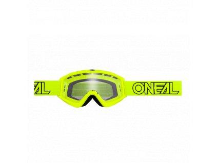 Brýle O´Neal B-ZERO neon žlutá