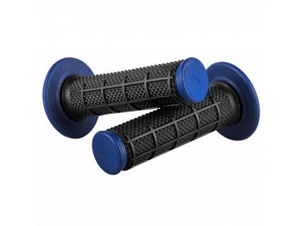 Gripy O´Neal DIAMOND DUAL COMPOUND černá/modrá