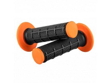 Gripy O´Neal DIAMOND DUAL COMPOUND černá/oranžová