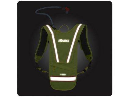Batoh Source i-Viz Firefly - zářivě žlutá - bez vaku!