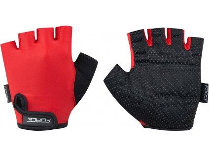 Dětské rukavice FORCE KID, červená  Dětské rukavice FORCE KID, červená