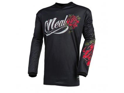 Dámský dres O´Neal Element ROSES černá/červená