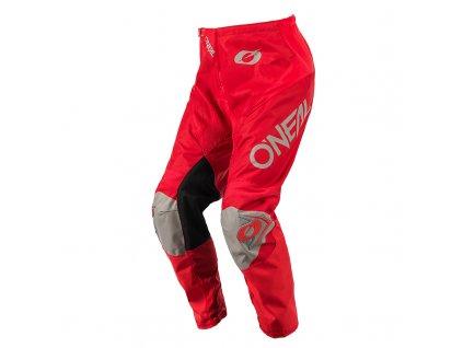 Kalhoty O´Neal Matrix RIDEWEAR červená/šedá