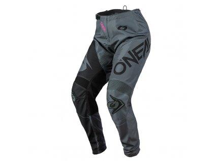 Dámské kalhoty O´Neal Element RACEWEAR šedá/růžová 3