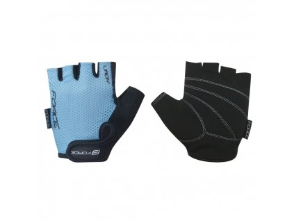 force rukavice lady svetle modre