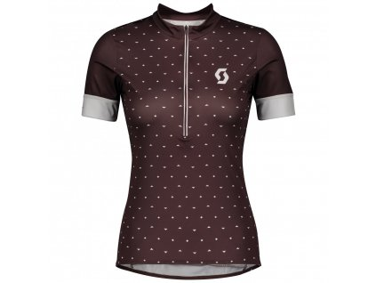 Dámský cyklistický dres se zipem SCOTT Endurance 20 2020