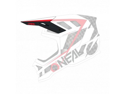 Náhradní kšilt přilby O´Neal Blade Carbon GM SIGNATURE