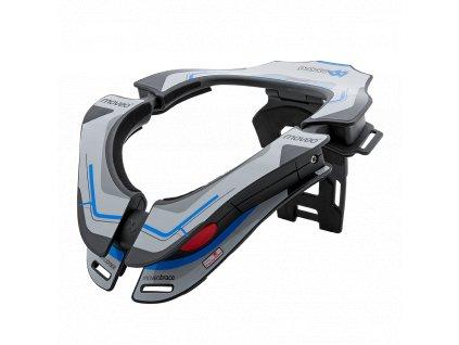 Chránič krční páteře Moveo Concept bílá/modrá