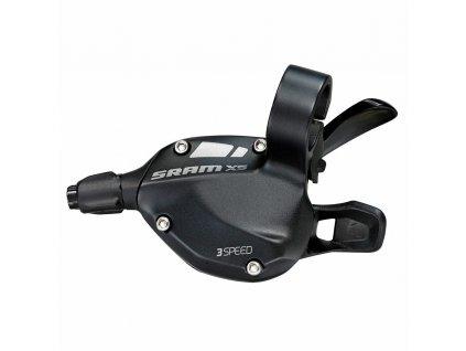 Řadící páčka SRAM X-5 , 3rychl., přední, černé