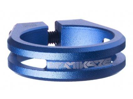 Sedlová objímka Sixpack Kamikaze 34,9 mm modrá