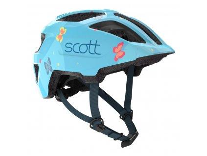Dětská helma SCOTT SPUNTO KID, light blue  Dětská helma SCOTT SPUNTO KID, light blue