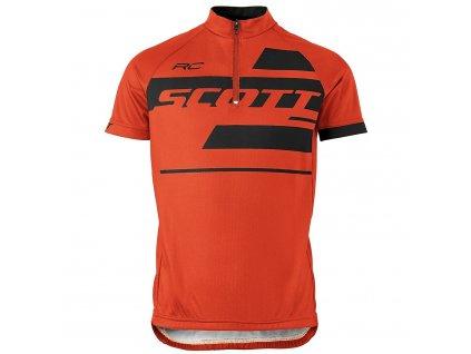 scott kids rc team ssl shirt 17a sct 250367 tangerine orange black 1