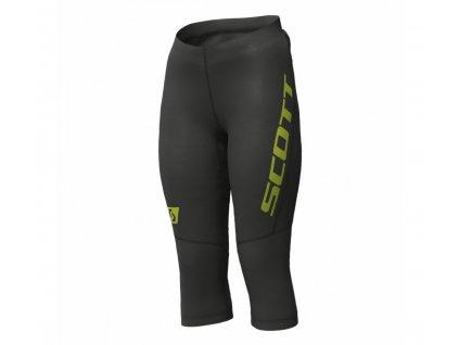Dámské 3/4 běžecké kalhoty SCOTT RC RUN, černá  Dámské 3/4 běžecké kalhoty SCOTT RC RUN, černá