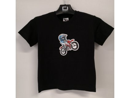 RIDE HARD dětské tričko Rider 8 let / 134 cm