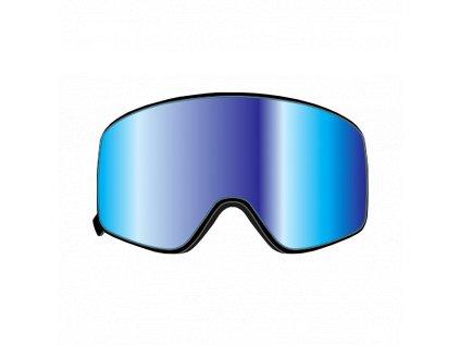 Náhradní dvojité sklo pro černé O´Neal B-50 FORCE Radium modrá