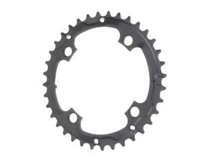Chain Ring MTB 32T V7 104 Alum Hard Black