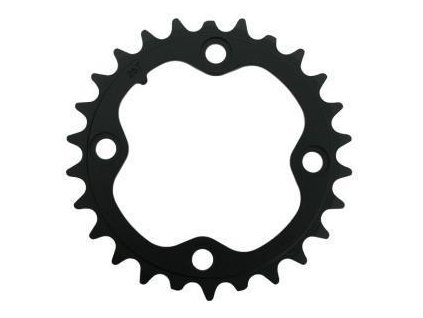 Chain Ring MTB 22T V3 64 Alum Hard Black