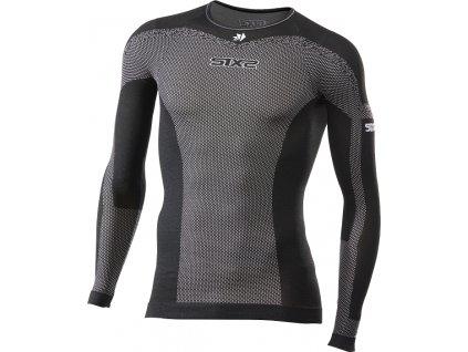 SIXS TS2L BT funkční odlehčené triko s dl. rukávem černá