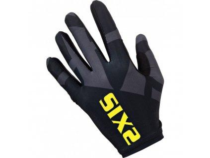 SIXS rukavice MTB GLO černá/žlutá