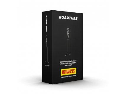 Duše Pirelli RoadTUBE 23/30-622 Black Presta 48mm RVC