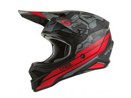 Přilba O´Neal 3Series CAMO černá/červená