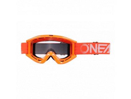 Brýle O´Neal B-ZERO V.22 oranžová