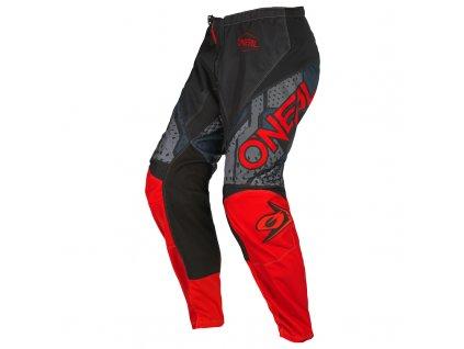 Dětské kalhoty O´Neal Element CAMO černá/červená
