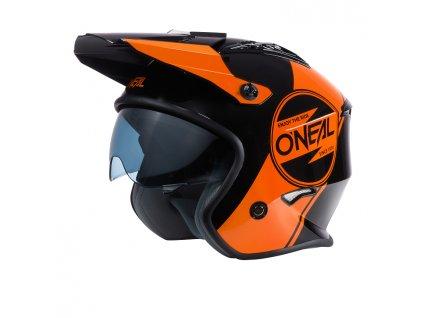 Přilba O´Neal Volt CORP černá/oranžová