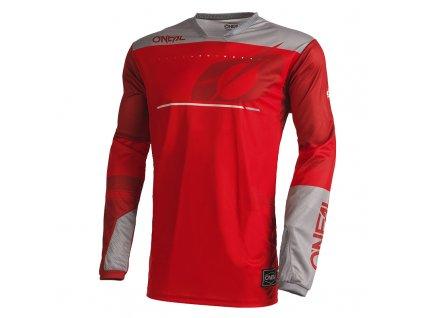 Dres O´Neal Hardwear HAZE červená/šedá