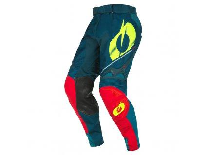 Kalhoty O´Neal Hardwear HAZE modrá/červená