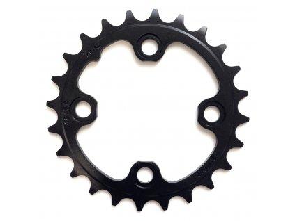 Chain Ring MTB 24T 64 AL3 Blast Black 2x11 No Pin