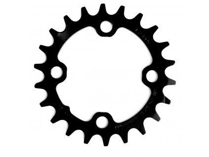 Chain Ring MTB 22T 64 AL3 Blast Black 2x10 No Pin