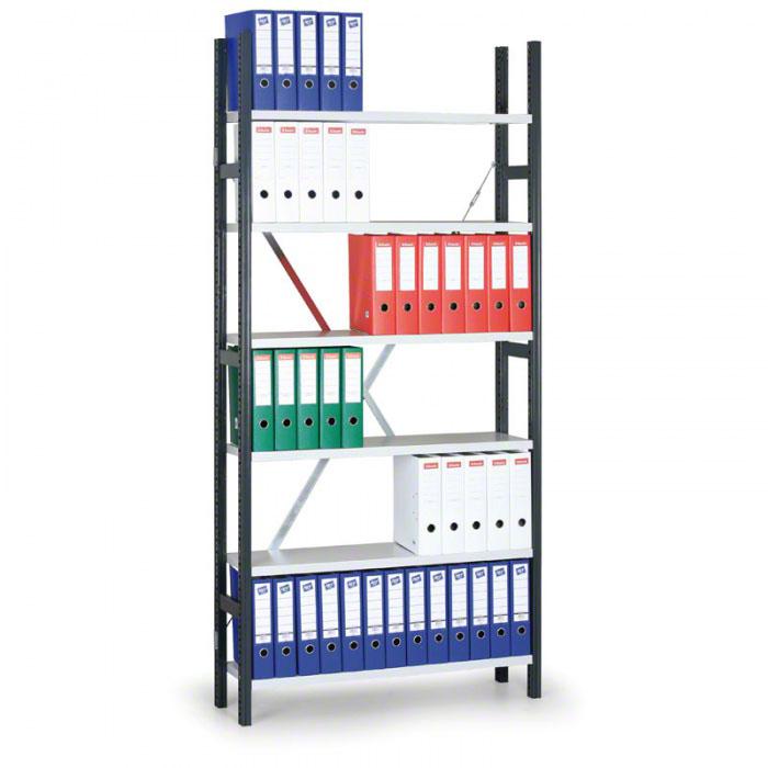 Zásuvné kovové regály 75-250 kg