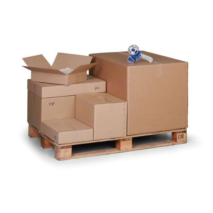Kartónové krabice s klopami