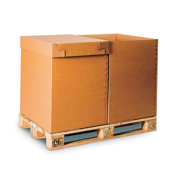 Paletové kartónové boxy