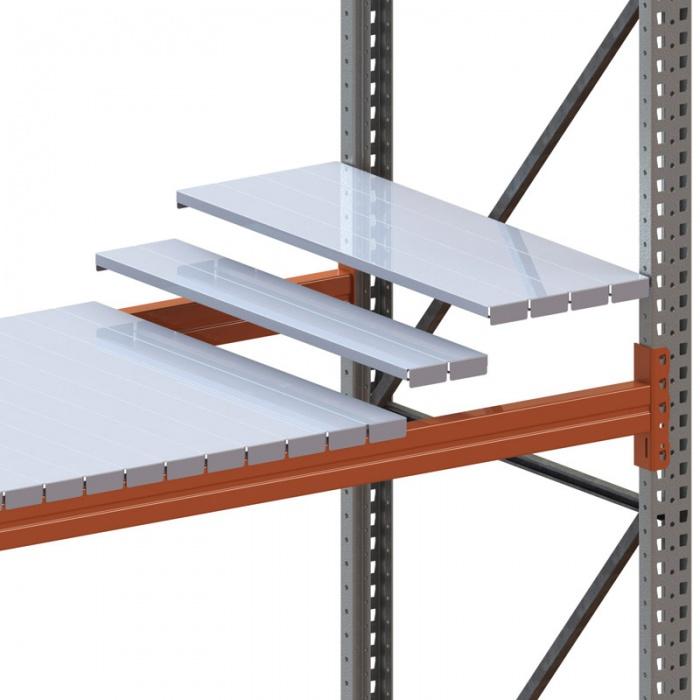 Komponenty a příslušenství paletových regálů