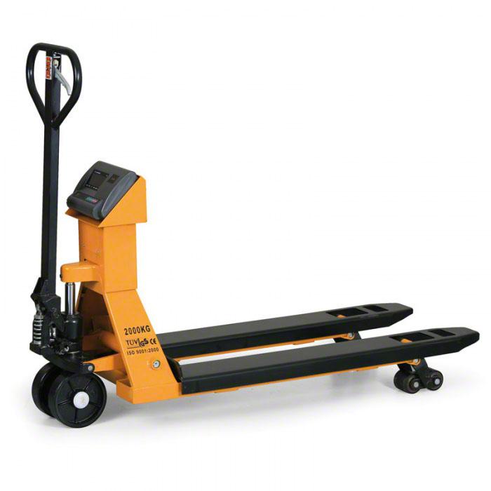 Paletové vozíky s váhou