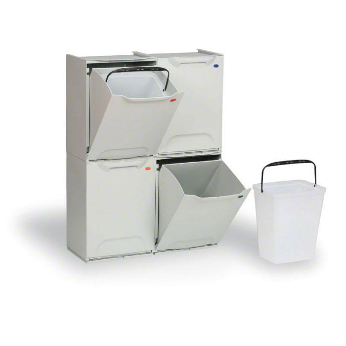 Plastové koše na tříděný odpad