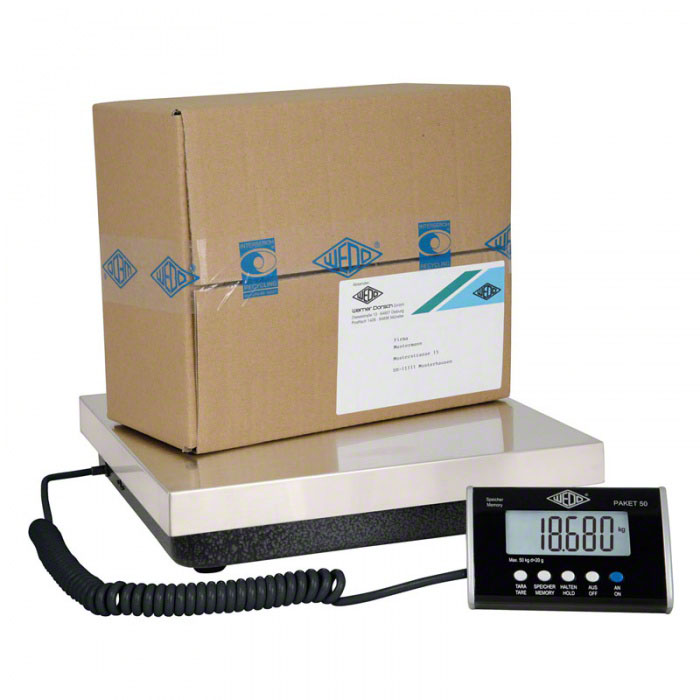 Plošinové a balíkové váhy