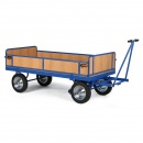 Plošinové vozíky s ojí