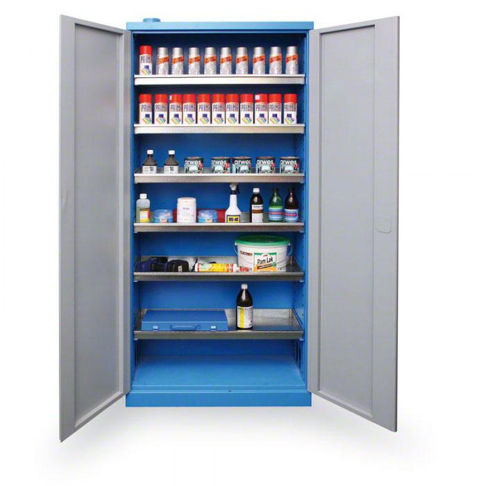 Bezpečnostní a protipožární skříně na chemikálie