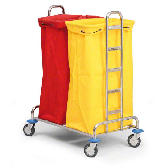 Vozíky s vaky na prádlo nebo odpad