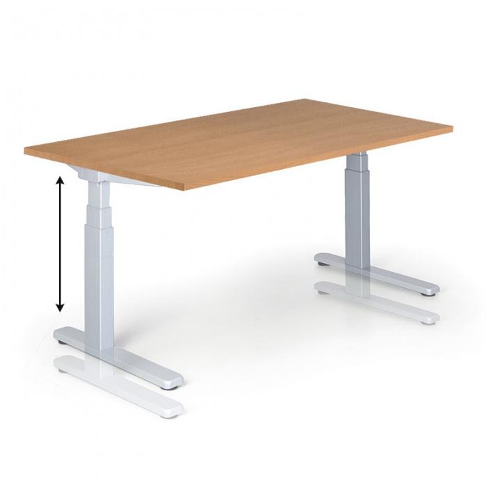 Výškově nastavitelné stoly - elektrické