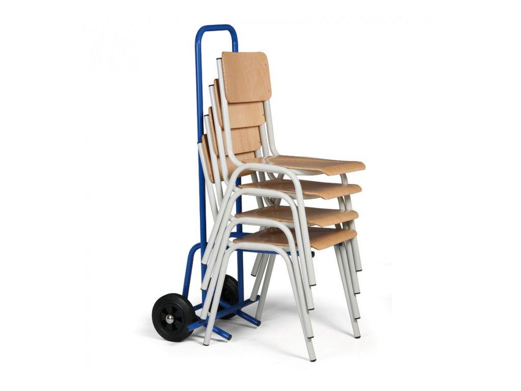 Rudl na přepravu konferenčních židlí