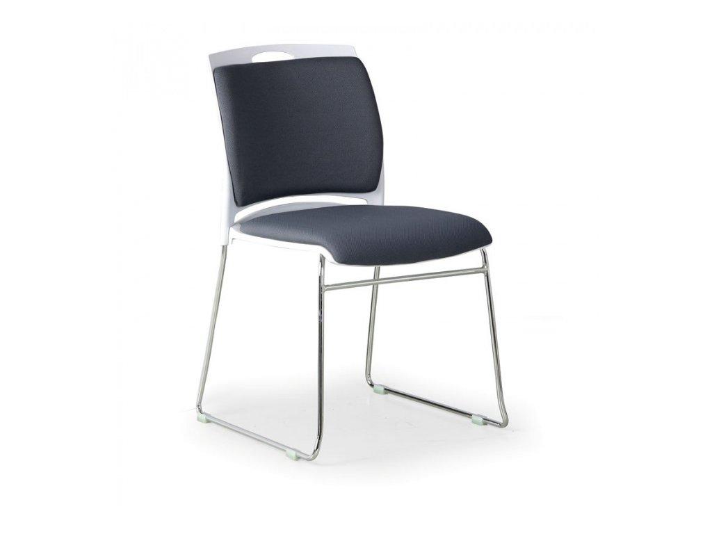 Konferenční židle Boda, šedá
