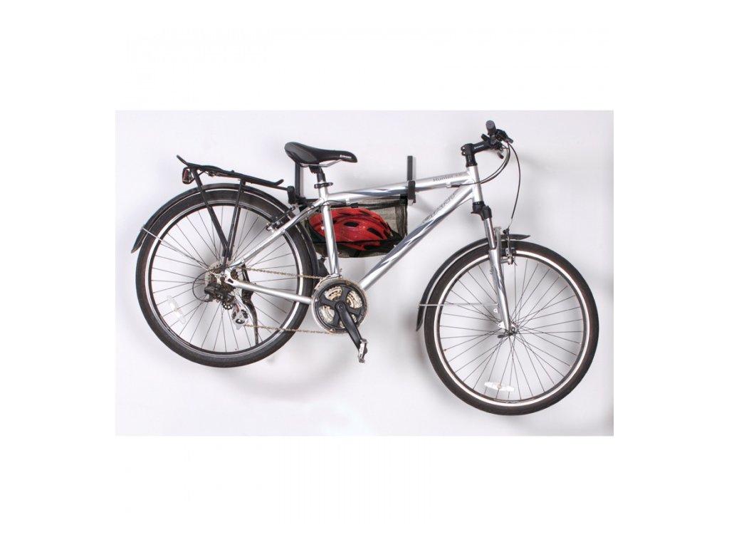 Závěsný držák na kolo na zeď