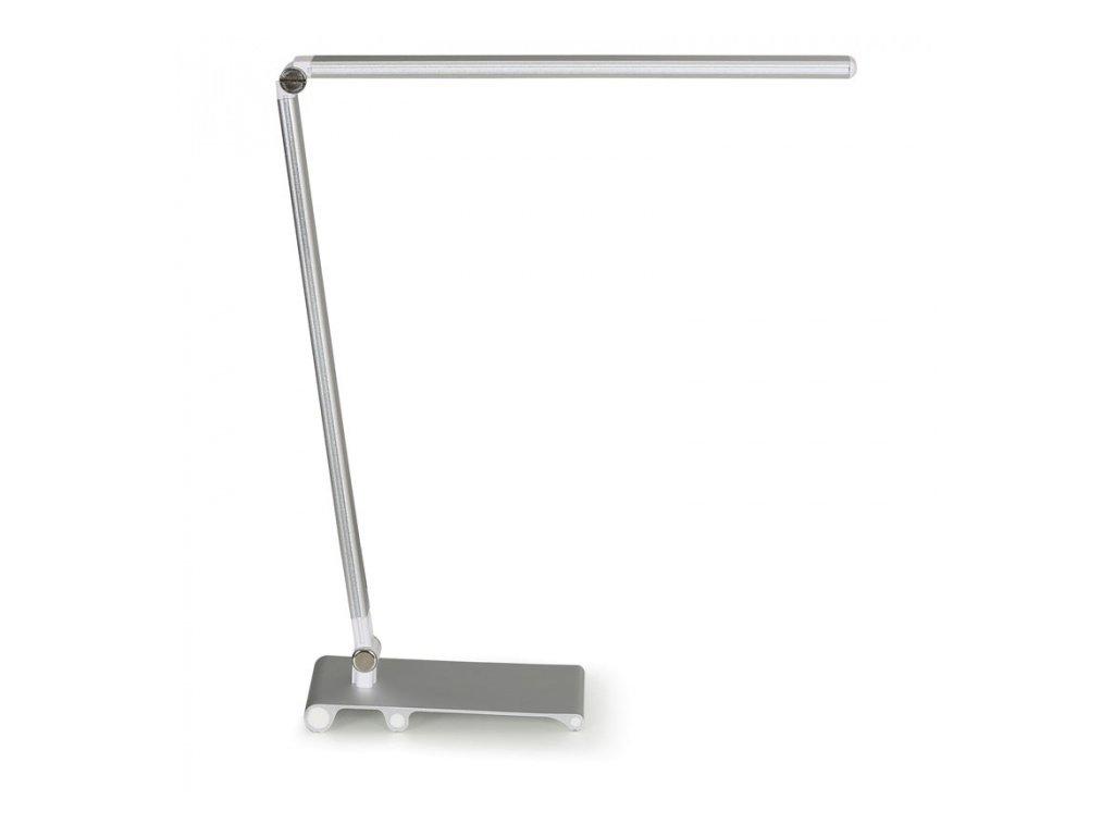 Stolní lampa Silvan, stříbrná